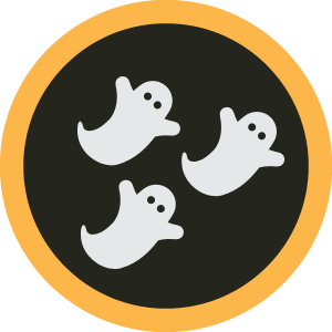 Foursquare Halloween Badges