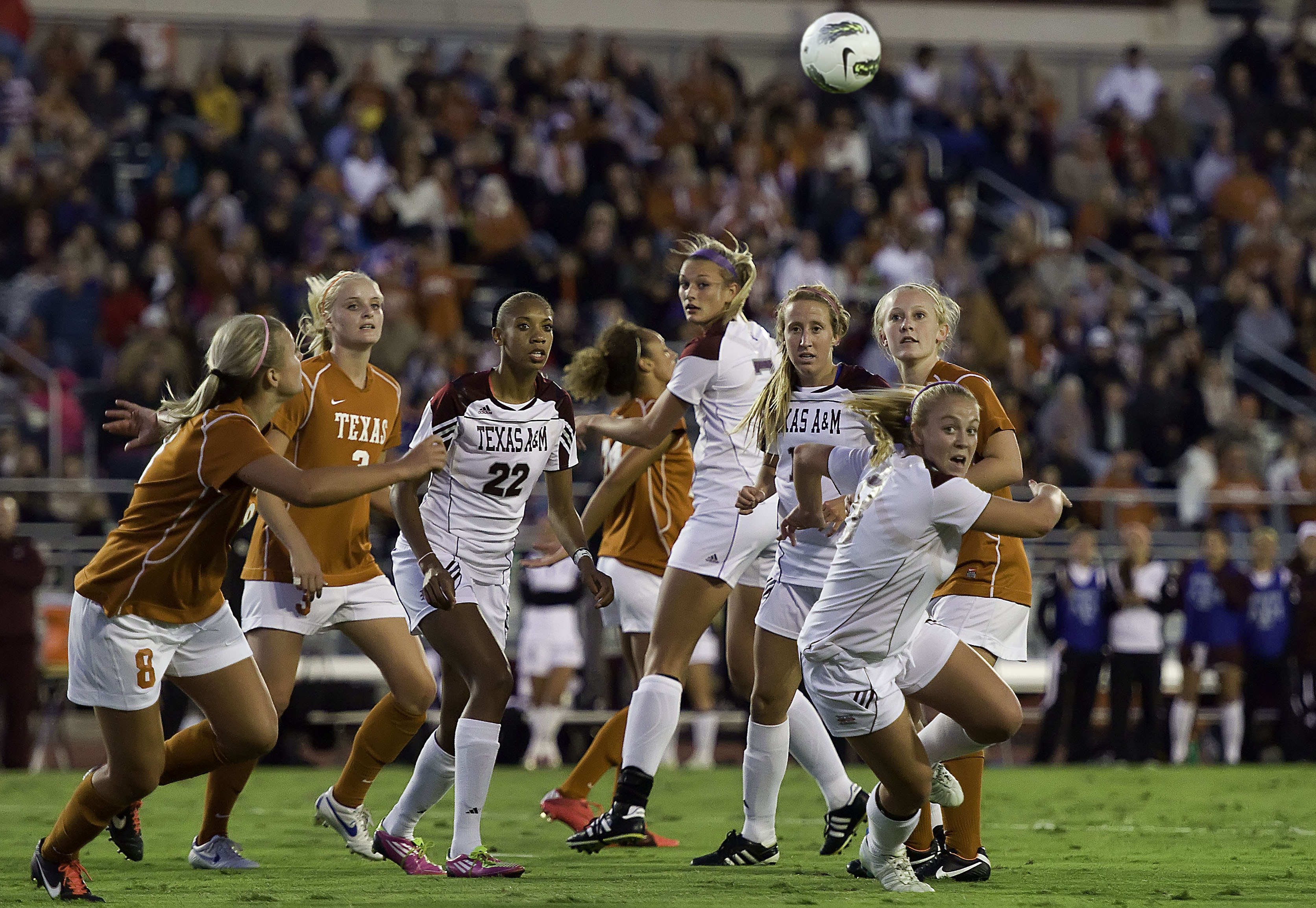 University Of Texas Women's Soccer